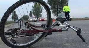 MARAMUREŞ: O femeie a ajuns la spital după ce a fost accidentată de un biciclist