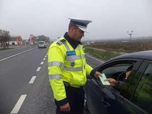 MARAMUREŞ: Şoferi şi comercianţi verificaţi de poliţişti