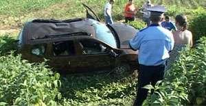 MARAMUREŞ: Patru copii şi o femeie au ajuns la spital în urma unui accident rutier
