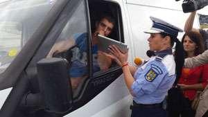 """MARAMUREŞ: Poliţiştii rutieri continuă activităţile în Campania preventivă """"SPEED"""""""
