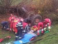 MARAMUREŞ: Un bărbat a decedat strivit sub tractor