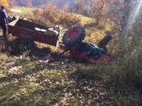 MARAMUREŞ: Un consilier local PNL a decedat după ce s-a răsturnat cu tractorul