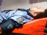 MARAMUREŞ: Un poliţist a ajuns la spital după ce a fost lovit în cap cu un pistol de un tânăr
