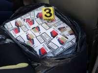 MARAMUREȘ: 280 pachete cu ţigări de contrabandă confiscate de poliţişti