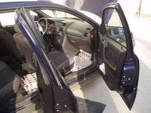 MARAMUREȘ: 376000 de țigarete confiscate de polițiști și o persoană reținută pentru 24 de ore