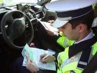 MARAMUREȘ: 66 de sancţiuni contravenţionale aplicate de poliţiştii rutieri în weekend