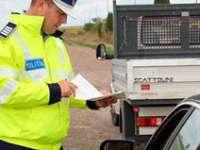 MARAMUREȘ: A prezentat polițiștilor un permis fals ce avea datele de identificare ale fratelui său