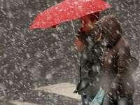 Maramureş - Avertizare de cod galben de ninsori şi vânt în a doua parte a zilei