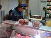 MARAMUREȘ: Carne și legume confiscate de poliţiştii de investigare a criminalităţii economice