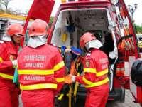 MARAMUREȘ: Cinci persoane transportate la spital în urma unei coliziuni dintre două autoturisme