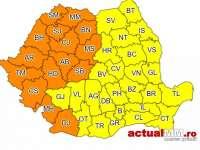 MARAMUREȘ - Cod portocaliu şi Cod galben de caniculă începând astăzi