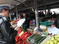 MARAMUREȘ - Controalele efectuate în pieţe, târguri şi centre agroalimentare