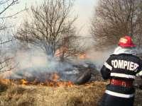 Maramureș - Incendii de vegetație