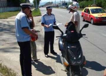 MARAMUREȘ: Moped furat de un tânăr din Sălaj, recuperat de poliţişti şi restituit părţii vătămate