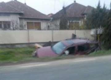 MARAMUREȘ: O persoană rănită în urma unui accident rutier