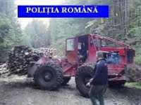 MARAMUREȘ: Peste 100 de controale efectuate de poliţişti pentru prevenirea şi combaterea ilegalităţilor silvice
