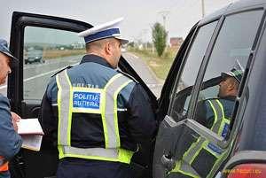 MARAMUREȘ: Peste 90 de sancțiuni contravenționale aplicate ieri de polițiștii rutieri