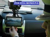 MARAMUREȘ: Poliţiştii rutieri desfăşoară zilnic activităţi pentru combaterea vitezei excesive