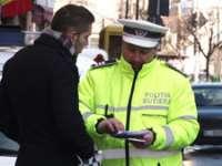 MARAMUREȘ: Sancţiuni aplicate şoferilor care au condus cu viteză şi pietonilor indisciplinaţi