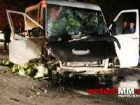 MARAMUREȘ - Șase victime, după un accident în care au fost implicate două autoturisme, un microbuz și un TIR