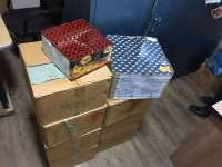 MARAMURES - Sute de kilograme de ARTICOLE PIROTEHNICE confiscate de politisti