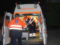 Maramureșean accidentat grav în timp ce se deplasa pe marginea drumului, în calitate de pieton