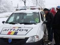 Maramureșean depistat în trafic în timp ce conducea un autoturism cu număr fals de înmatriculare
