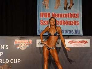 Maramureşeanca Cristina Conţiu, argint la Cupa Mondială de bikini fitness