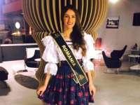 Maramureșeanca Mihaela Bosca este cea mai frumoasă româncă din lume, desemnată să ne reprezinte țara la Miss World 2017