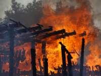 MARAMUREȘUL în flăcări. 11 incendii în 24 de ore
