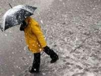Maramureşul, sub Cod Galben de ploi, ninsori și intensificări ale vântului
