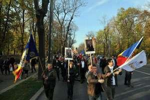 Marș pro-monarhie organizat în București de Alianța Națională pentru Restaurarea Monarhiei