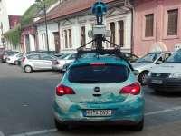 Mașina Google Street View în Maramureș