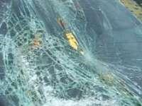 Maşina Poliţiei de frontieră distrusă la Borşa de un individ aflat sub control judiciar, furios pe oamenii legii