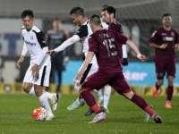 Meci nebun - CFR Cluj a învins campioana Astra cu 5-1 la capătul unui meci cu multe penalty-uri