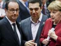 Merkel, Tsipras și Hollande se întâlnesc la Bruxelles pentru discuţii pe tema refugiaților