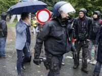 Mii de manifestanţi Blockupy au înconjurat sediul BCE din Frankfurt, Germania