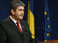 Ministrul Gabriel Oprea a susţinut prima conferinţă de presă după moartea poliţistului