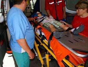 Minor în vârstă de 5 ani accidentat la Vișeu de Sus