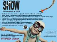 """MITING AVIATIC: Demonstraţii de acrobaţie şi salturi în tandem cu paraşuta la """"Maramureş Air Show 2015″"""