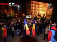 MITING – Peste 200 de tineri băimăreni cer schimbarea întregii clase politice din România
