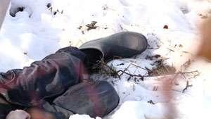MOARTE GROAZNICĂ: Un bărbat din Rona de Sus a fost găsit îngheţat