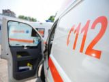 MOISEI: Bărbat transportat la spital în urma unui accident rutier