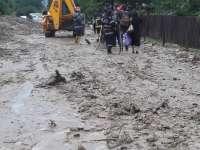 Moisei și Ruscova - Bani din rezerva bugetară a judeţului pentru înlăturarea efectelor inundațiilor