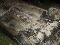 Moisei - Tânăr borșean s-a răsturnat cu mașina în albia râului Vişeu