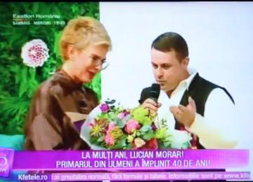 VIDEO: MOMENT INEDIT - Ioana Pricop, soția lui Lucian Morar, i-a organizat acestuia o petrecere surpriză la împlinirea vârstei de 40 de ani