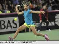 Monica Niculescu a învins-o pe Kvitova și a restabilit egalitatea în meciul România - Cehia, din Fed Cup