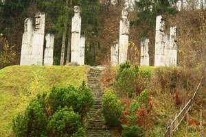 Monumentul de la Moisei, realizat de Vida Gheza, a fost reabilitat