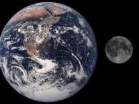NASA a făcut publică prima fotografie cu planeta Pământ surprinsă de pe Lună