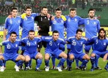 Naţionala Greciei a sosit azi la Bucureşti pentru meciul cu România